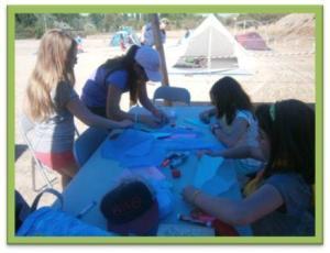 Preparamos teatro en el campamento