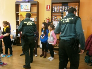 La Guardia Civil en Pioneros