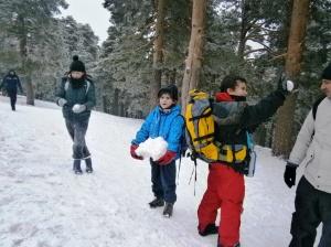 Bloque de nieve