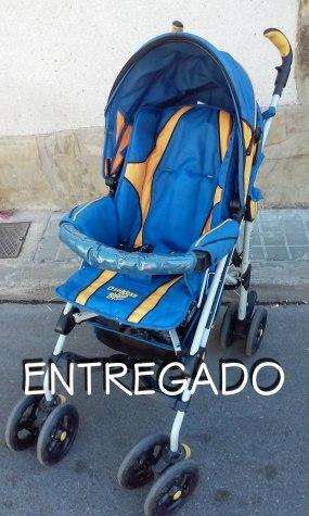 CArro pleglable azul amarillo Entregado