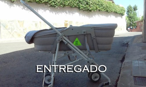Carro Gris Prenatal ENTREGADO
