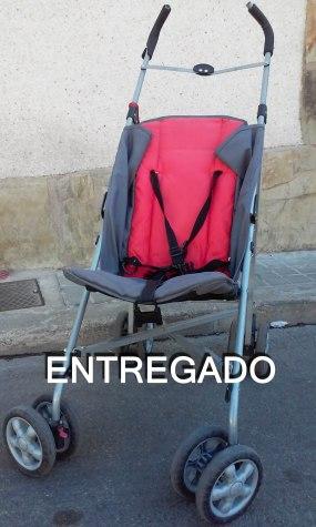 Carro Rojo Paraguas ENTREGADO